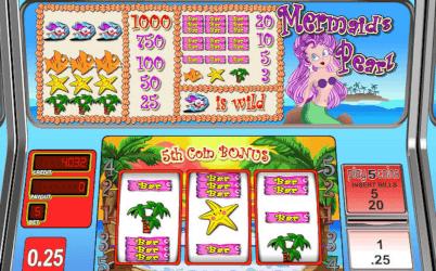 Mermaid's Pearl Online Slot