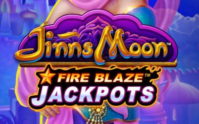 Fire Blaze Jackpots: Jinns Moon Online Slot