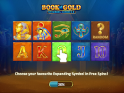Book of Gold: Symbol Choice Screenshot 1
