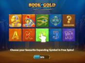Book of Gold: Symbol Choice Screenshot 1
