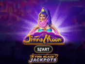 Fire Blaze Jackpots: Jinns Moon Screenshot 1