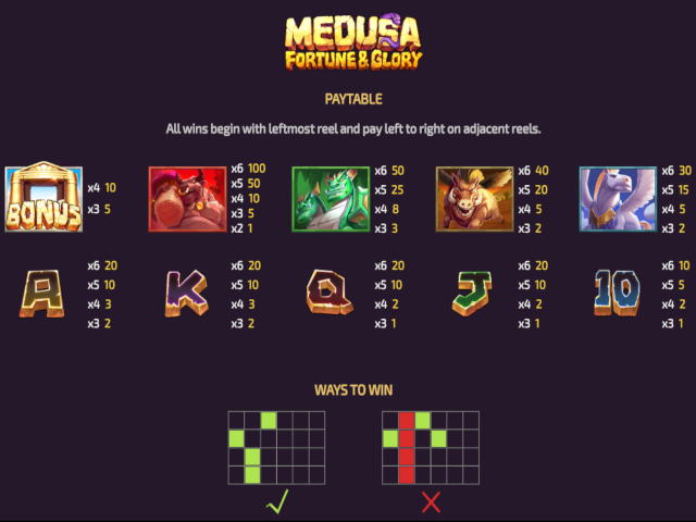 Medusa: Fortune & Glory Screenshot 3