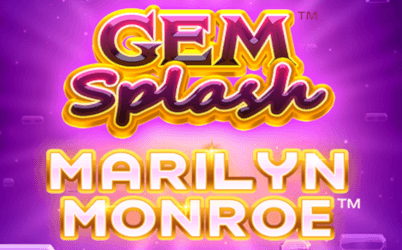 Gem Splash: Marilyn Monroe Online Slot