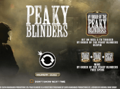 Peaky Blinders Screenshot 1