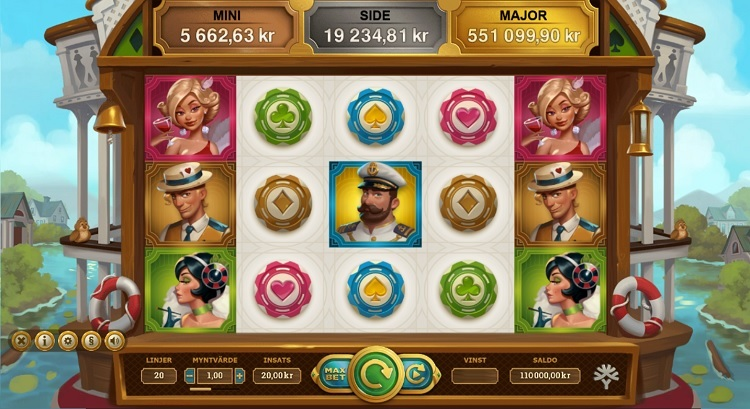 Jackpot Express spelautomat Yggdrasil nyhet