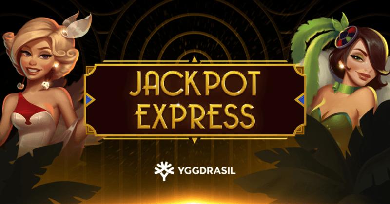 Yggdrasil presenterar Jackpot Express slot med 3 jackpottar