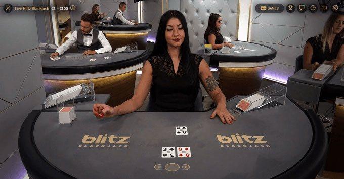 Blitz Blackjack von NetEnt