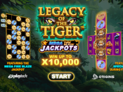 Mega Fire Blaze Jackpots: Legacy of the Tiger Screenshot 1