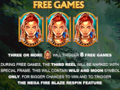 Mega Fire Blaze Jackpots: Legacy of the Tiger Screenshot 3