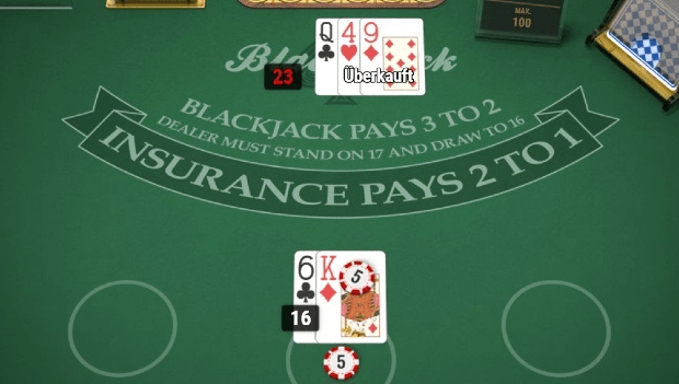 Blackjack von Play'n GO