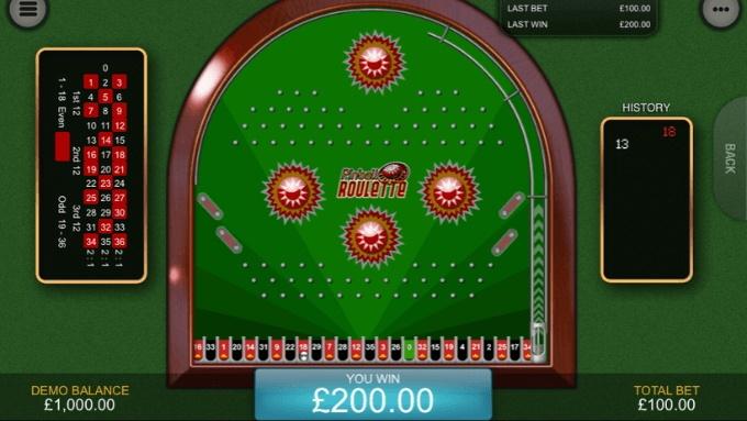 Versioner av roulette online
