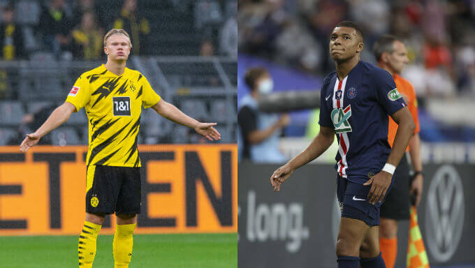 How Mbappe and Haaland Compare To Messi and Ronaldo So Far