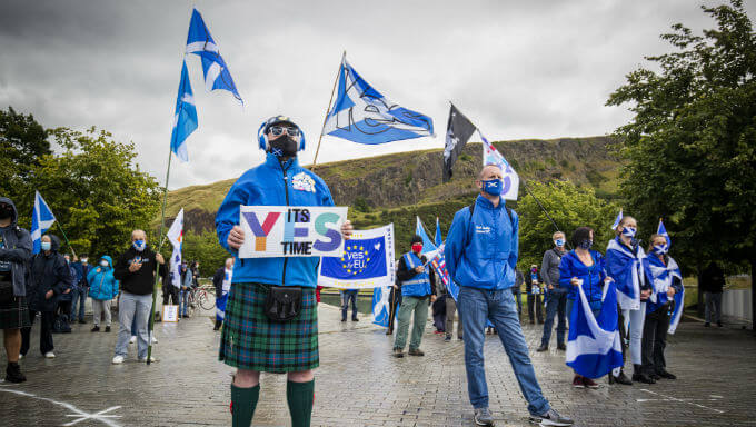 Scottish Independence Betting Odds Catching Up To Polls