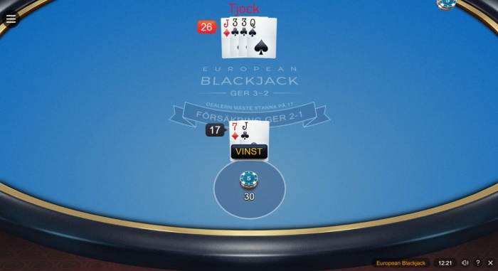blackjack betting strategier